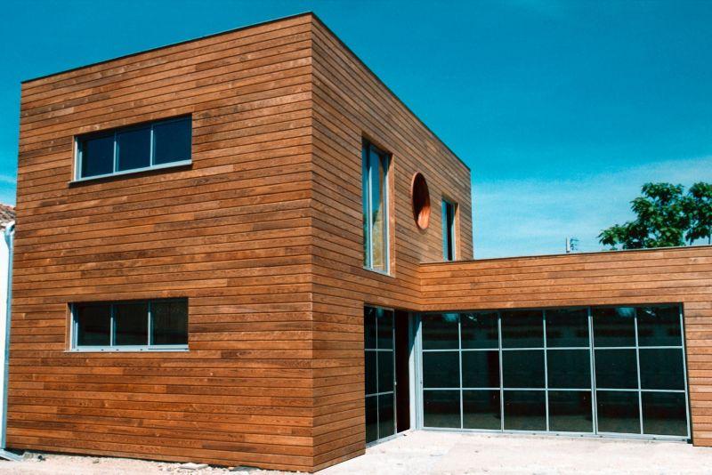 maison bois architecte affordable ajap nem architectes u extension de maison en bois brl u. Black Bedroom Furniture Sets. Home Design Ideas