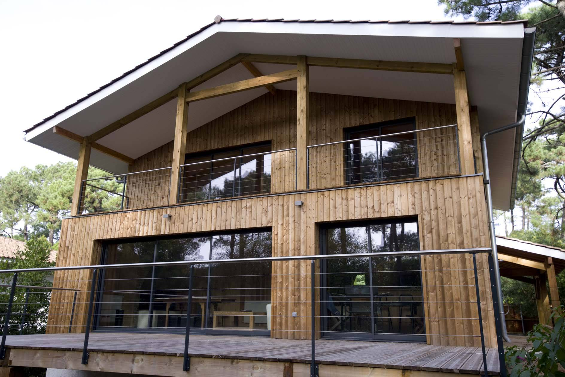 Maison Ossature Bois Bordeaux architecte maison bois et ossature bioclimatique bordeaux