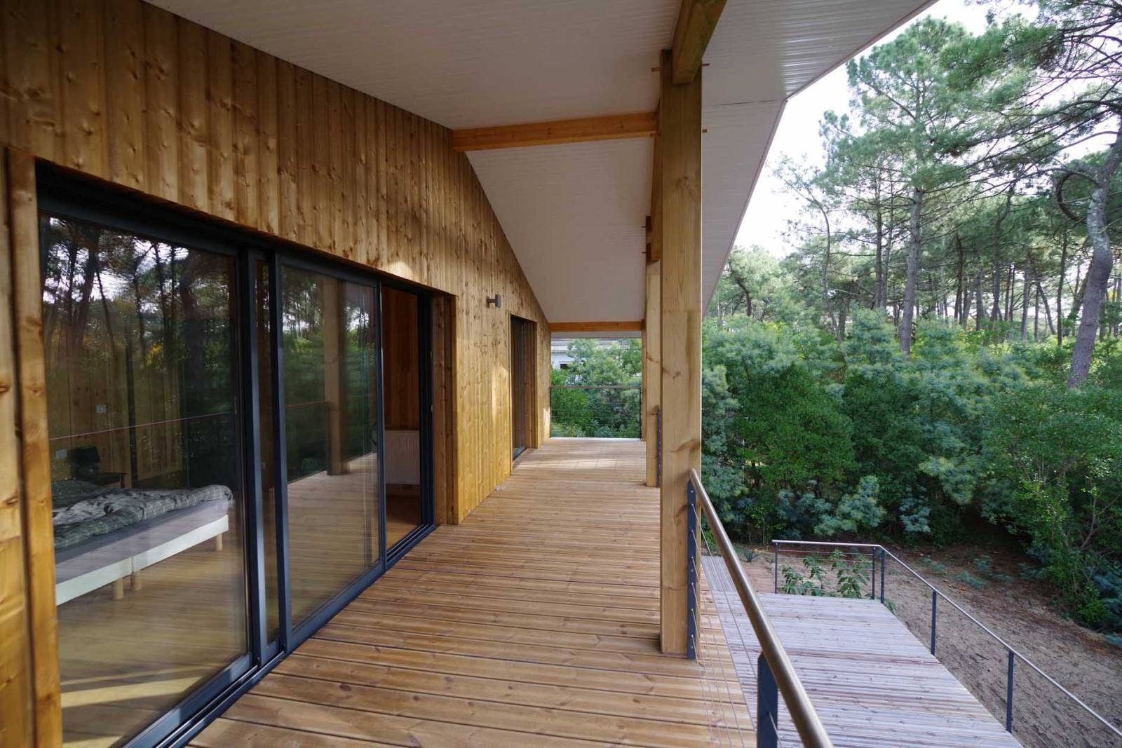 Gut gemocht Maison Bois Cap Ferret - Architecte Bordeaux - Denis Cartier  XV85