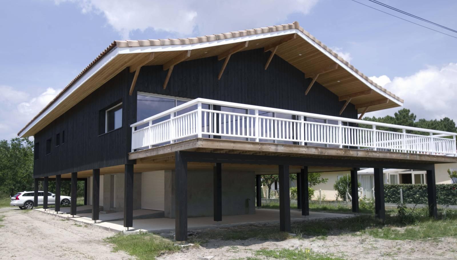 Maison Tchanquee Bassin D Arcachon Architecte Bordeaux Denis