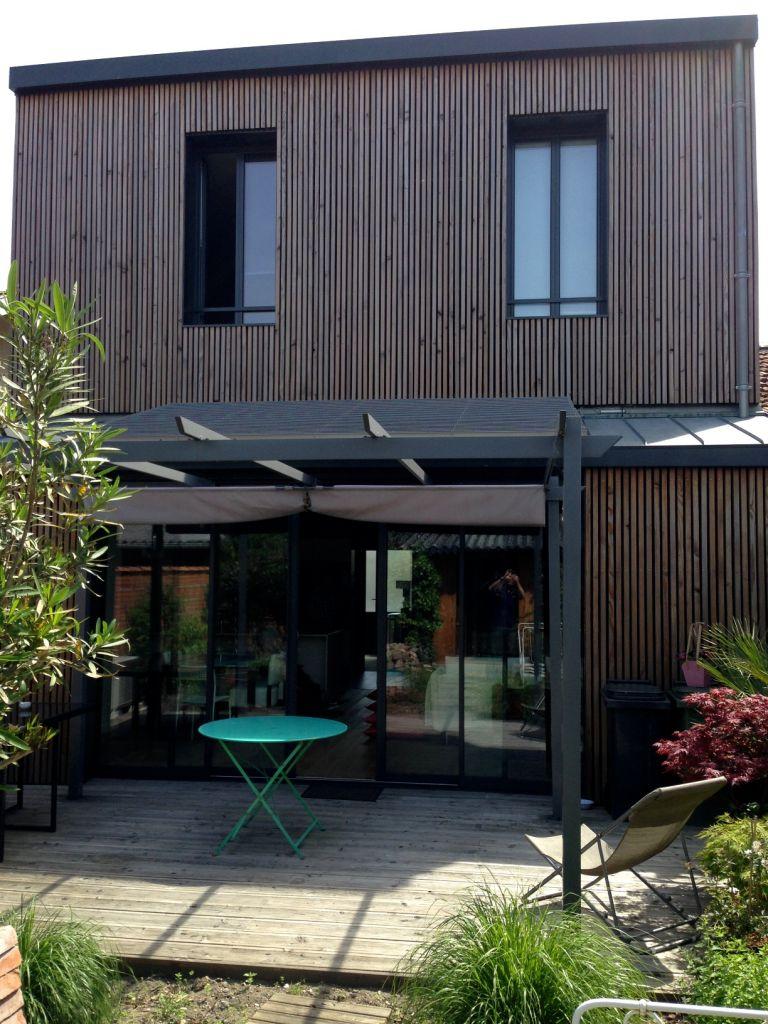 bardage claire voie architecte pour la r alisation de maisons modernes m tal et bois sur. Black Bedroom Furniture Sets. Home Design Ideas
