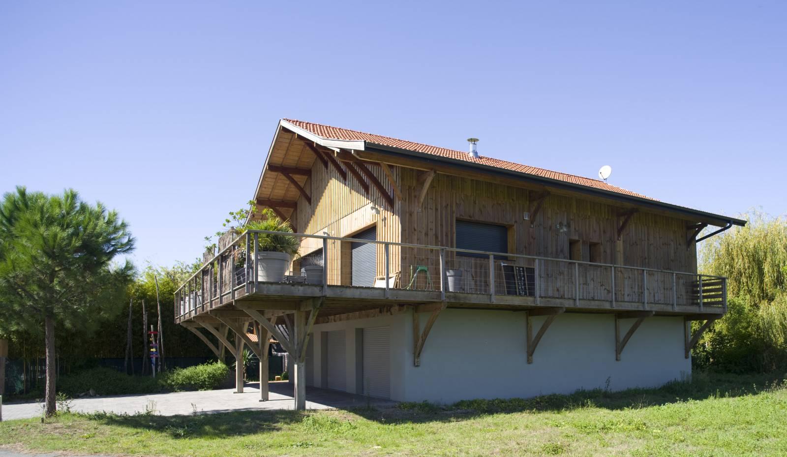 Maison bassin d 39 arcachon architecte bordeaux denis for Architecte arcachon
