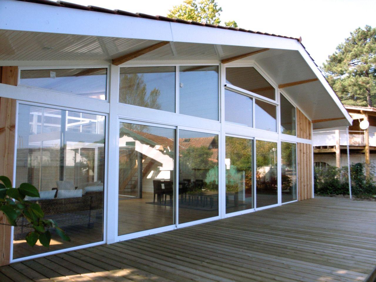 Maison bois et m tal architecte bordeaux denis cartier architecte - Maison bois metal ...