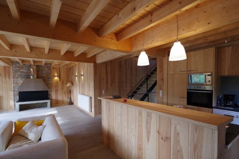 Maison bois cap ferret architecte bordeaux denis - Maison en bois cap ferret ...