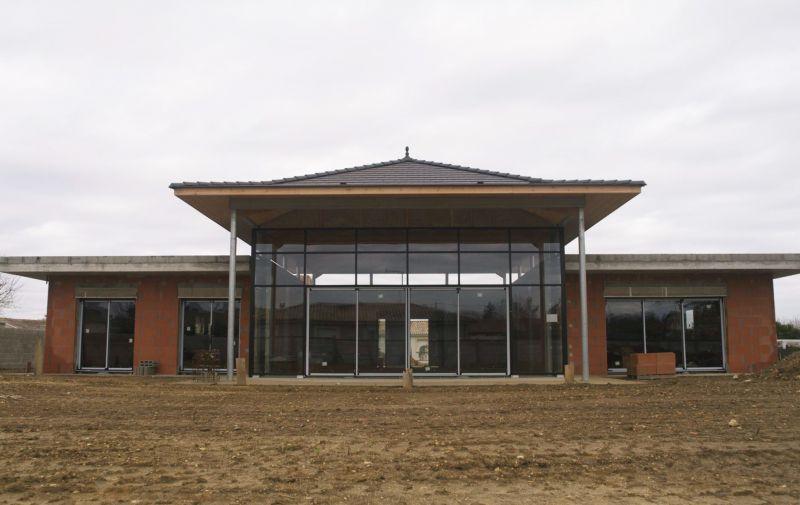 Maison en construction architecte bordeaux denis for Construction maison architecte